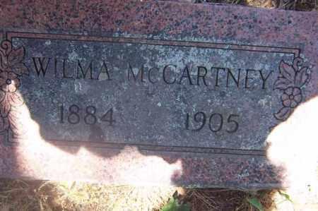 MCCARTNEY, WILMA - Sebastian County, Arkansas   WILMA MCCARTNEY - Arkansas Gravestone Photos
