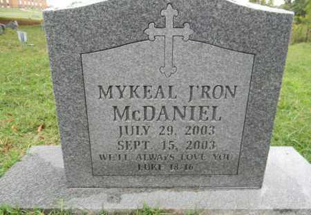 MCDANIEL, MYKEAL J'RON - Sebastian County, Arkansas | MYKEAL J'RON MCDANIEL - Arkansas Gravestone Photos