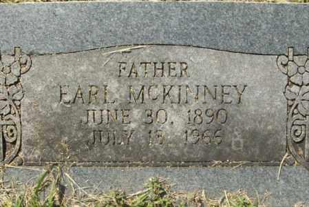 MCKINNEY, EARL - Sebastian County, Arkansas   EARL MCKINNEY - Arkansas Gravestone Photos