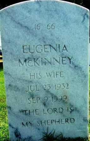 MCKINNEY, EUGENIA - Sebastian County, Arkansas | EUGENIA MCKINNEY - Arkansas Gravestone Photos