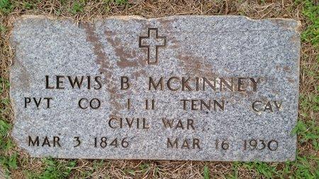 MCKINNEY  (VETERAN  UNION), LEWIS B - Sebastian County, Arkansas | LEWIS B MCKINNEY  (VETERAN  UNION) - Arkansas Gravestone Photos