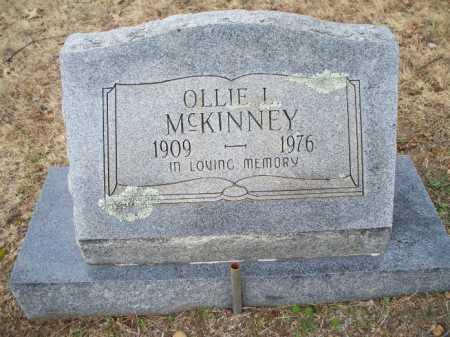 MCKINNEY, OLLIE L - Sebastian County, Arkansas   OLLIE L MCKINNEY - Arkansas Gravestone Photos