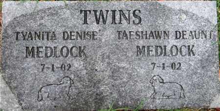 MEDLOCK, TYANITA DENISE - Sebastian County, Arkansas   TYANITA DENISE MEDLOCK - Arkansas Gravestone Photos