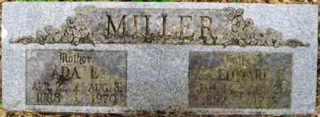MILLER, EDWARD - Sebastian County, Arkansas | EDWARD MILLER - Arkansas Gravestone Photos