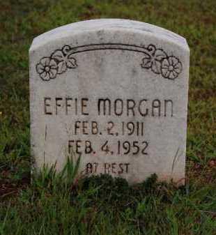 MORGAN, EFFIE - Sebastian County, Arkansas | EFFIE MORGAN - Arkansas Gravestone Photos