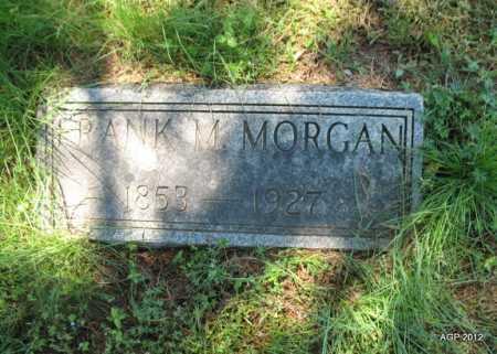 MORGAN, FRANK M - Sebastian County, Arkansas   FRANK M MORGAN - Arkansas Gravestone Photos