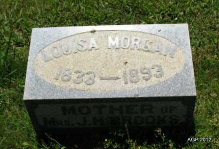 MORGAN, LOUISA - Sebastian County, Arkansas | LOUISA MORGAN - Arkansas Gravestone Photos
