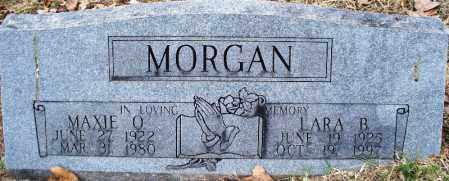 MORGAN, LARA B - Sebastian County, Arkansas | LARA B MORGAN - Arkansas Gravestone Photos