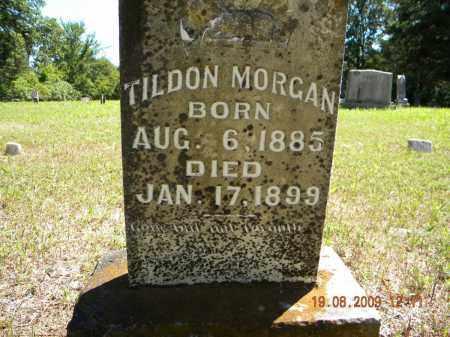 MORGAN, TILDON (CLOSE UP) - Sebastian County, Arkansas | TILDON (CLOSE UP) MORGAN - Arkansas Gravestone Photos