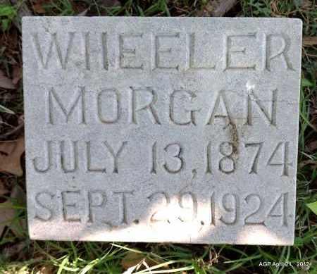 MORGAN, WHEELER - Sebastian County, Arkansas | WHEELER MORGAN - Arkansas Gravestone Photos
