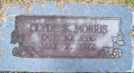 MORRIS, CLYDE R - Sebastian County, Arkansas | CLYDE R MORRIS - Arkansas Gravestone Photos