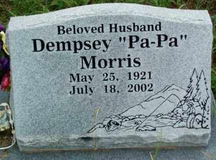 "MORRIS, DEMPSEY ""PA-PA""  (2ND STONE) - Sebastian County, Arkansas   DEMPSEY ""PA-PA""  (2ND STONE) MORRIS - Arkansas Gravestone Photos"