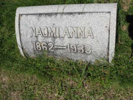 MORRIS, NAOMI ANNA - Sebastian County, Arkansas   NAOMI ANNA MORRIS - Arkansas Gravestone Photos