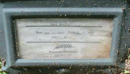 MORRIS, PAUL - Sebastian County, Arkansas | PAUL MORRIS - Arkansas Gravestone Photos