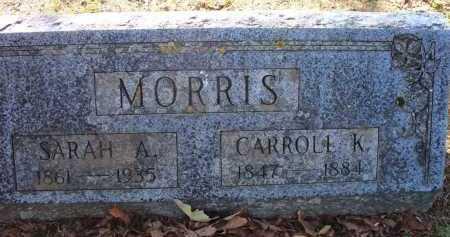 MORRIS, SARAH A - Sebastian County, Arkansas | SARAH A MORRIS - Arkansas Gravestone Photos