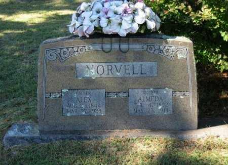 REDING NORVELL, MARY ALMEDA - Sebastian County, Arkansas   MARY ALMEDA REDING NORVELL - Arkansas Gravestone Photos