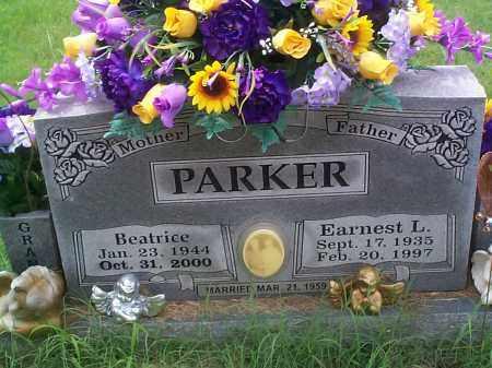 PARKER, EARNEST L. - Sebastian County, Arkansas   EARNEST L. PARKER - Arkansas Gravestone Photos