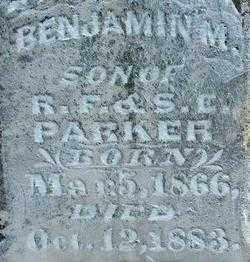 PARKER, BENJAMIN M (2) - Sebastian County, Arkansas   BENJAMIN M (2) PARKER - Arkansas Gravestone Photos