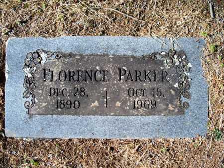PARKER, FLORENCE - Sebastian County, Arkansas   FLORENCE PARKER - Arkansas Gravestone Photos