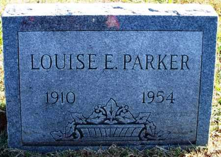 PARKER, LOUISE E. - Sebastian County, Arkansas | LOUISE E. PARKER - Arkansas Gravestone Photos