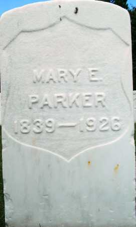 PARKER, MARY E - Sebastian County, Arkansas | MARY E PARKER - Arkansas Gravestone Photos