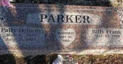 PARKER, PATTY DOLORES - Sebastian County, Arkansas | PATTY DOLORES PARKER - Arkansas Gravestone Photos
