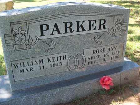 PARKER, ROSE ANN - Sebastian County, Arkansas | ROSE ANN PARKER - Arkansas Gravestone Photos