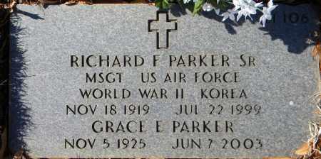 PARKER, GRACE E - Sebastian County, Arkansas | GRACE E PARKER - Arkansas Gravestone Photos