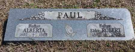PERTEET PAUL, ALBERTA - Sebastian County, Arkansas   ALBERTA PERTEET PAUL - Arkansas Gravestone Photos