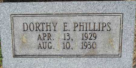 PHILLIPS, DORTHY E - Sebastian County, Arkansas | DORTHY E PHILLIPS - Arkansas Gravestone Photos