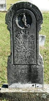 MCPHERSON RATTEREE, EMMA D. - Sebastian County, Arkansas   EMMA D. MCPHERSON RATTEREE - Arkansas Gravestone Photos