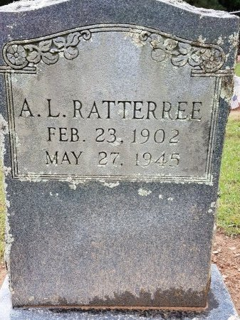 RATTERREE, ABE L - Sebastian County, Arkansas | ABE L RATTERREE - Arkansas Gravestone Photos