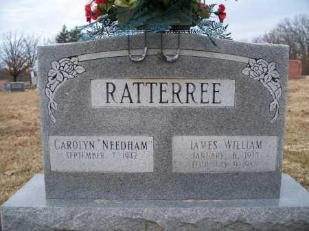 RATTERREE, JAMES WILLIAM - Sebastian County, Arkansas | JAMES WILLIAM RATTERREE - Arkansas Gravestone Photos