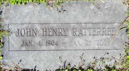 RATTERREE, JOHN HENRY - Sebastian County, Arkansas   JOHN HENRY RATTERREE - Arkansas Gravestone Photos