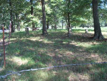 *RED OAK CEMETERY VIEW, . - Sebastian County, Arkansas | . *RED OAK CEMETERY VIEW - Arkansas Gravestone Photos