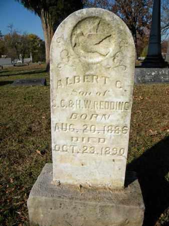 REDDING, ALBERT C - Sebastian County, Arkansas | ALBERT C REDDING - Arkansas Gravestone Photos