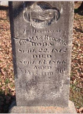 REDDING  (VETERAN  CSA), JOHN THOMAS - Sebastian County, Arkansas | JOHN THOMAS REDDING  (VETERAN  CSA) - Arkansas Gravestone Photos