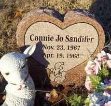 SANDIFER, CONNIE JO - Sebastian County, Arkansas   CONNIE JO SANDIFER - Arkansas Gravestone Photos
