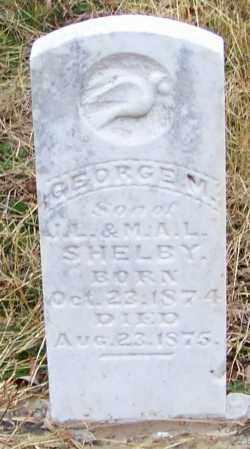 SHELBY, GEORGE M - Sebastian County, Arkansas | GEORGE M SHELBY - Arkansas Gravestone Photos