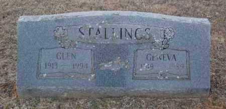 STALLINGS, GENEVA - Sebastian County, Arkansas   GENEVA STALLINGS - Arkansas Gravestone Photos