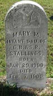 STALLINGS, MARY - Sebastian County, Arkansas | MARY STALLINGS - Arkansas Gravestone Photos
