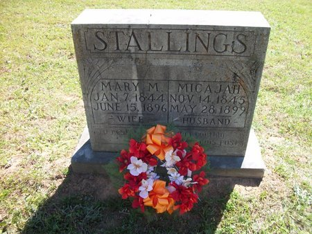 STALLINGS, MARY MATILDA - Sebastian County, Arkansas | MARY MATILDA STALLINGS - Arkansas Gravestone Photos