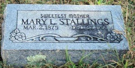 "BENEFIELD STALLINGS, MARY LUCINDA ""LULA"" - Sebastian County, Arkansas | MARY LUCINDA ""LULA"" BENEFIELD STALLINGS - Arkansas Gravestone Photos"