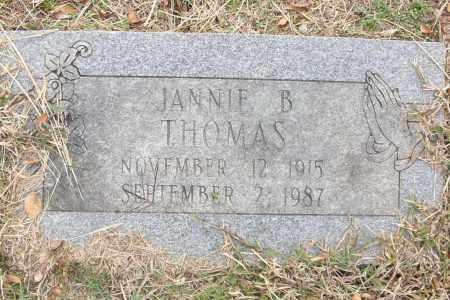 THOMAS, JANNIE B. - Sebastian County, Arkansas | JANNIE B. THOMAS - Arkansas Gravestone Photos