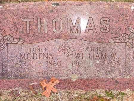 THOMAS, MODENA - Sebastian County, Arkansas | MODENA THOMAS - Arkansas Gravestone Photos