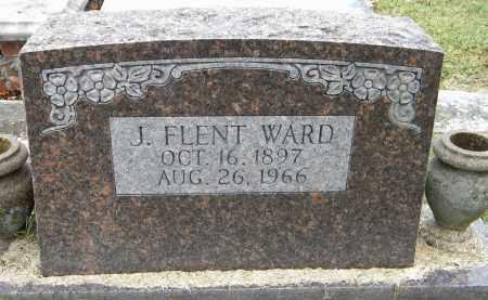 WARD, J FLENT - Sebastian County, Arkansas | J FLENT WARD - Arkansas Gravestone Photos