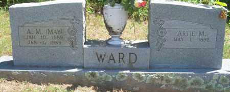 WARD, A.M. (MAY) - Sebastian County, Arkansas | A.M. (MAY) WARD - Arkansas Gravestone Photos