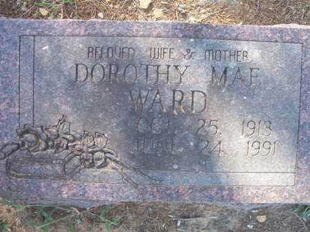 WARD, DOROTHY MAE - Sebastian County, Arkansas   DOROTHY MAE WARD - Arkansas Gravestone Photos