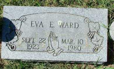 WARD, EVA E - Sebastian County, Arkansas | EVA E WARD - Arkansas Gravestone Photos