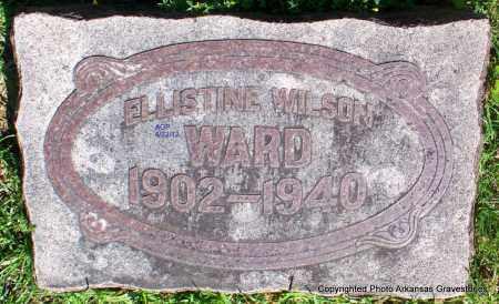 WARD, ELLISTINE - Sebastian County, Arkansas | ELLISTINE WARD - Arkansas Gravestone Photos